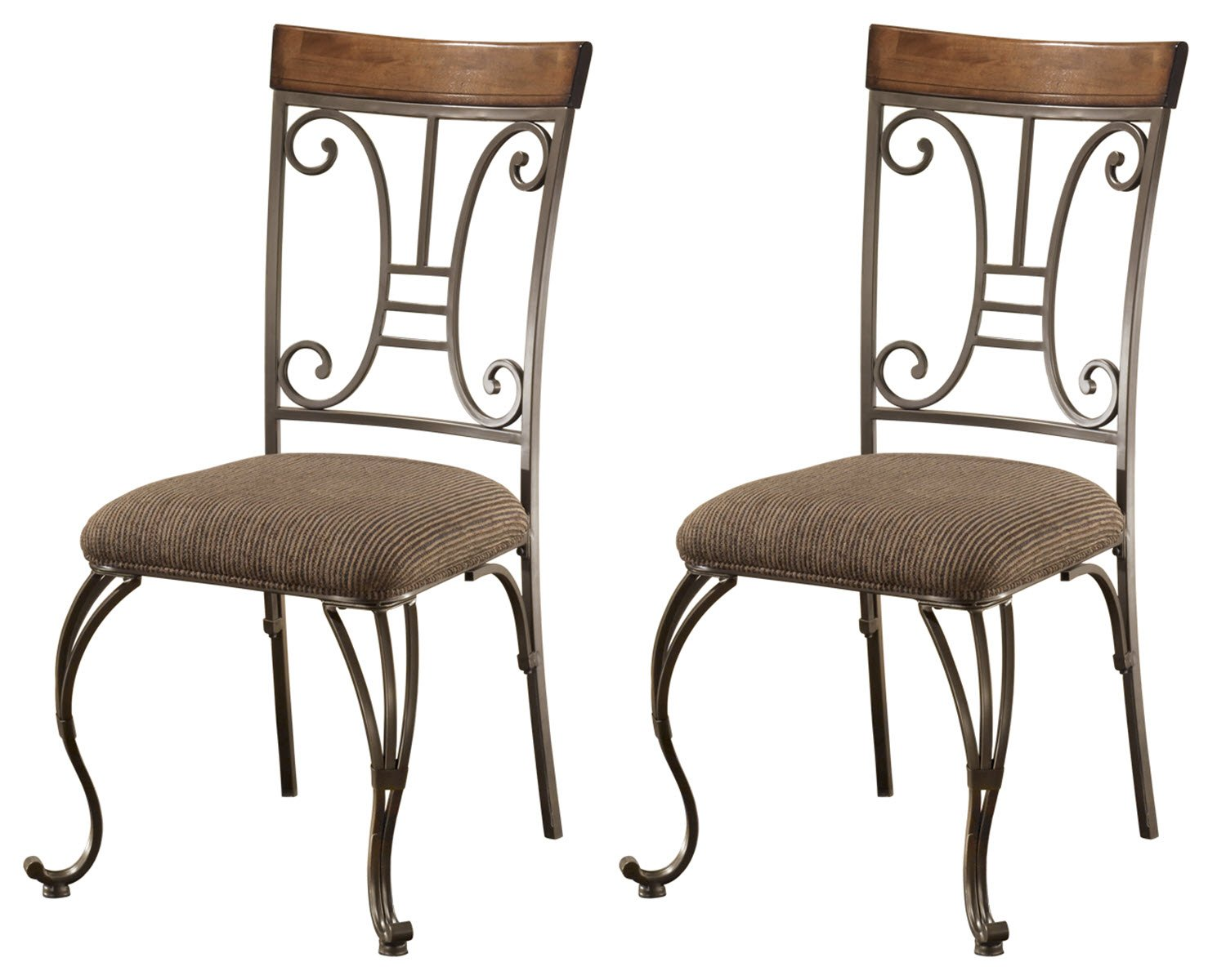 Wrought Iron Dining Chairs Amazon Com