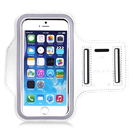 100% authentic 135b5 1820c Universal Sports Armband, MoKo Water Resistant Running Case Workout Arm  Band Cover for iPhone 8, iPhone 7, 6S, 6, 5S, 5, SE, Galaxy S7, S6, S6  Edge, ...