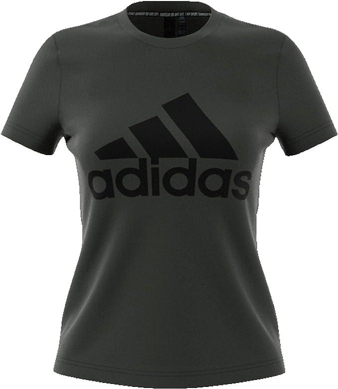 adidas W Mh Bos tee Camiseta, Mujer, Azul (Legend Earth), XS: Amazon.es: Ropa y accesorios