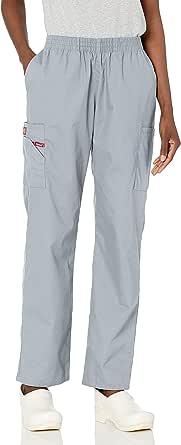 Dickies Women's 86106 Signature Elastic Waist Scrubs Pant Medical Scrubs Pants