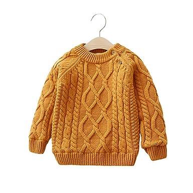 Stevenurr sweater Children Boys Girls for Winter O,Neck Warm
