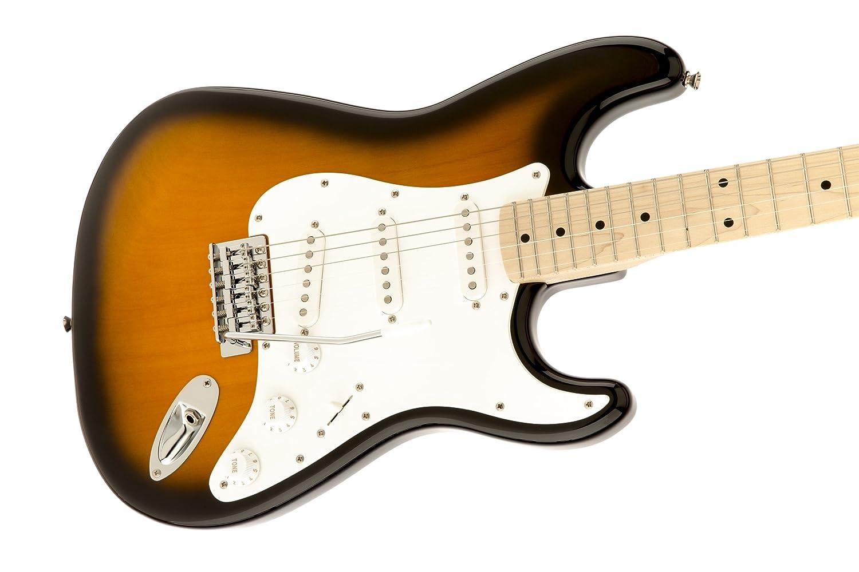 Squier® de Fender - Serie Affinity Stratocaster® - Guitarra eléctrica, color sunburst [quemado por el sol]: Amazon.es: Instrumentos musicales