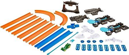 Hot Wheels - Kit de iniciación, Pista de Coches portátil (Mattel DGD29)