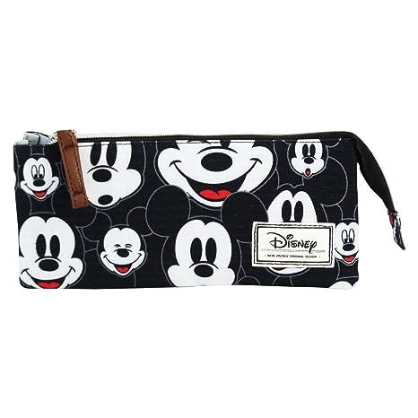 Disney Mickey Infantil Visages Estuche Portatodo con 3 ...