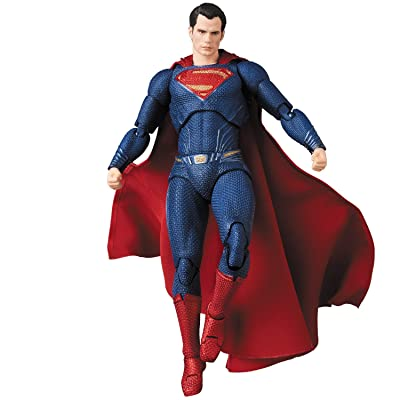 Entertainment Earth Justice League Movie Superman Mafex Action Figure: Toys & Games