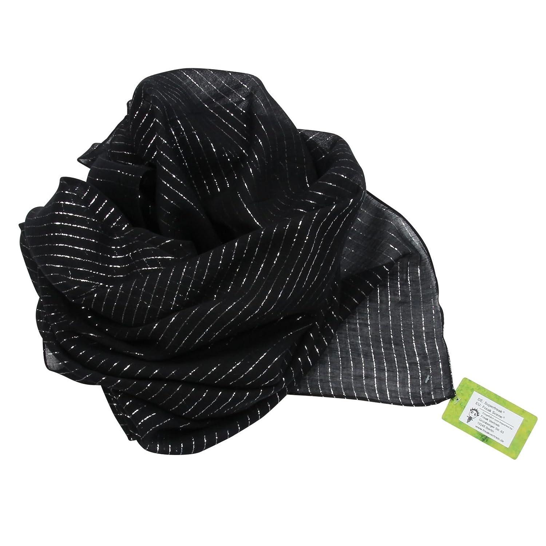 quarzgrau Melange-Look 100x100 cm Superfreak Baumwolltuch Tuch Schal 100/% Baumwolle Farbe grau