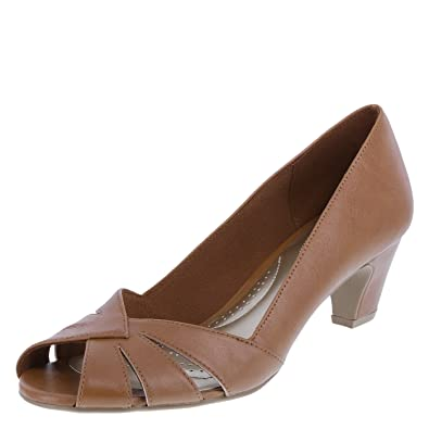 Amazon.com | dexflex Comfort Women's Marsha Low-Wedge Heel | Pumps