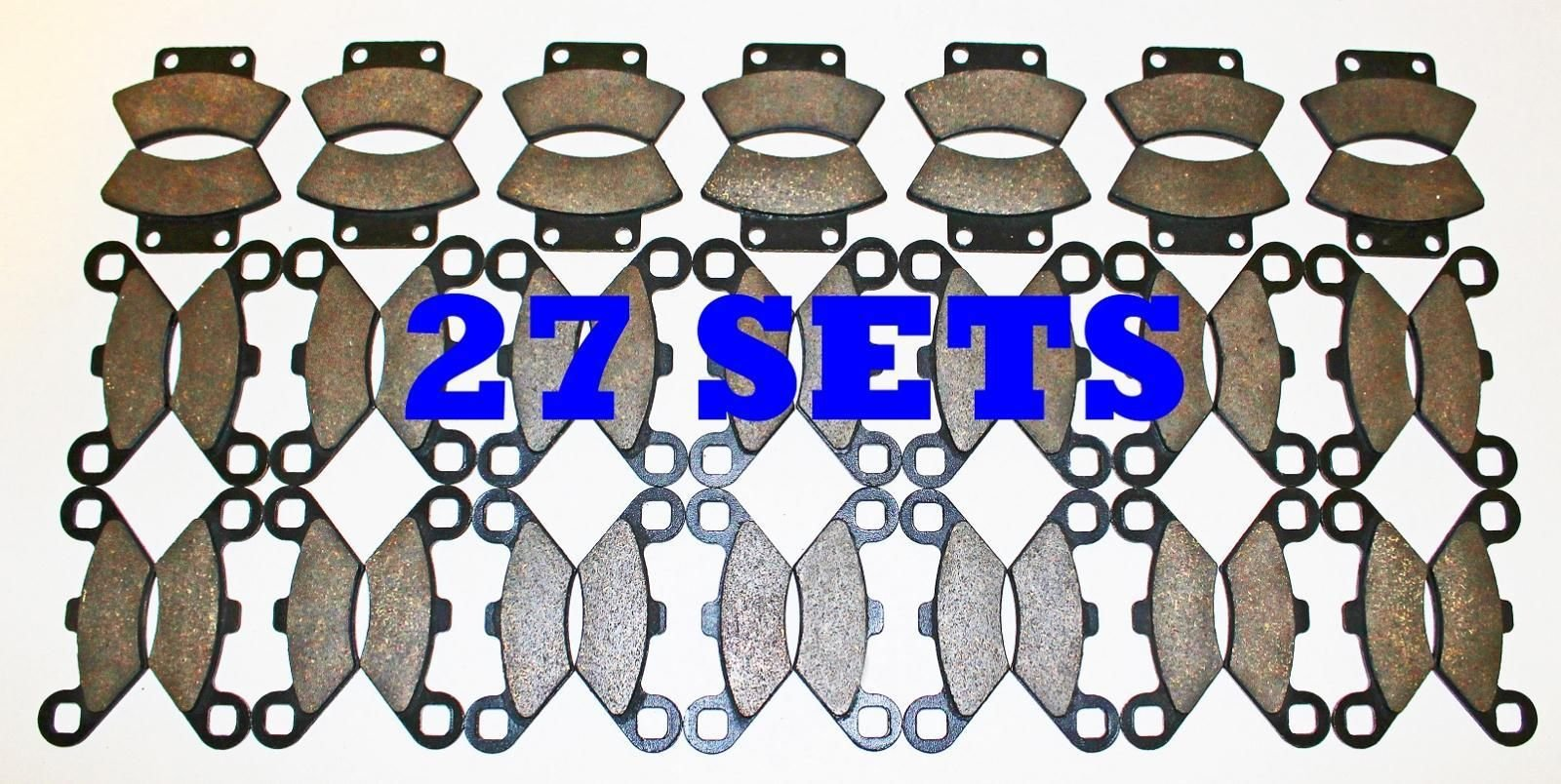 27 Sets Polaris 400 Sport Front and Rear Brake Pads