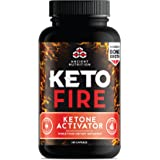 Ancient Nutrition KetoFIRE Capsules, Keto Supplement with BHB Salts as Exogenous Ketones, Electrolytes and Caffeine…