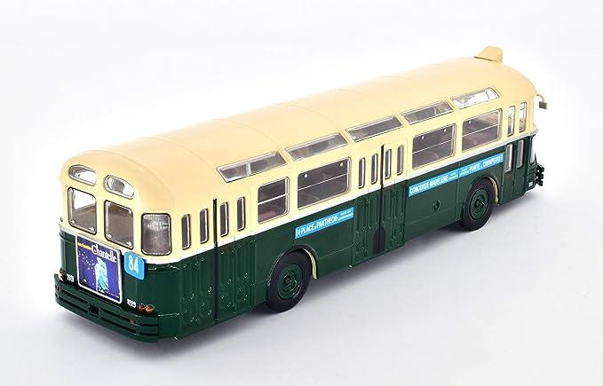 Brossel BL55 Valenciennes 1:43 Historischer Bus Fertigmodell Die-Cast Metall