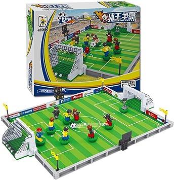 Kit de construcción de Modelo de fútbol, Kits de construcción de Modelo Compatible para Lego City Football Bloques 3D Juguetes Modelo Educativo Desarrollar aficiones de interés para los niños: Amazon.es: Juguetes y