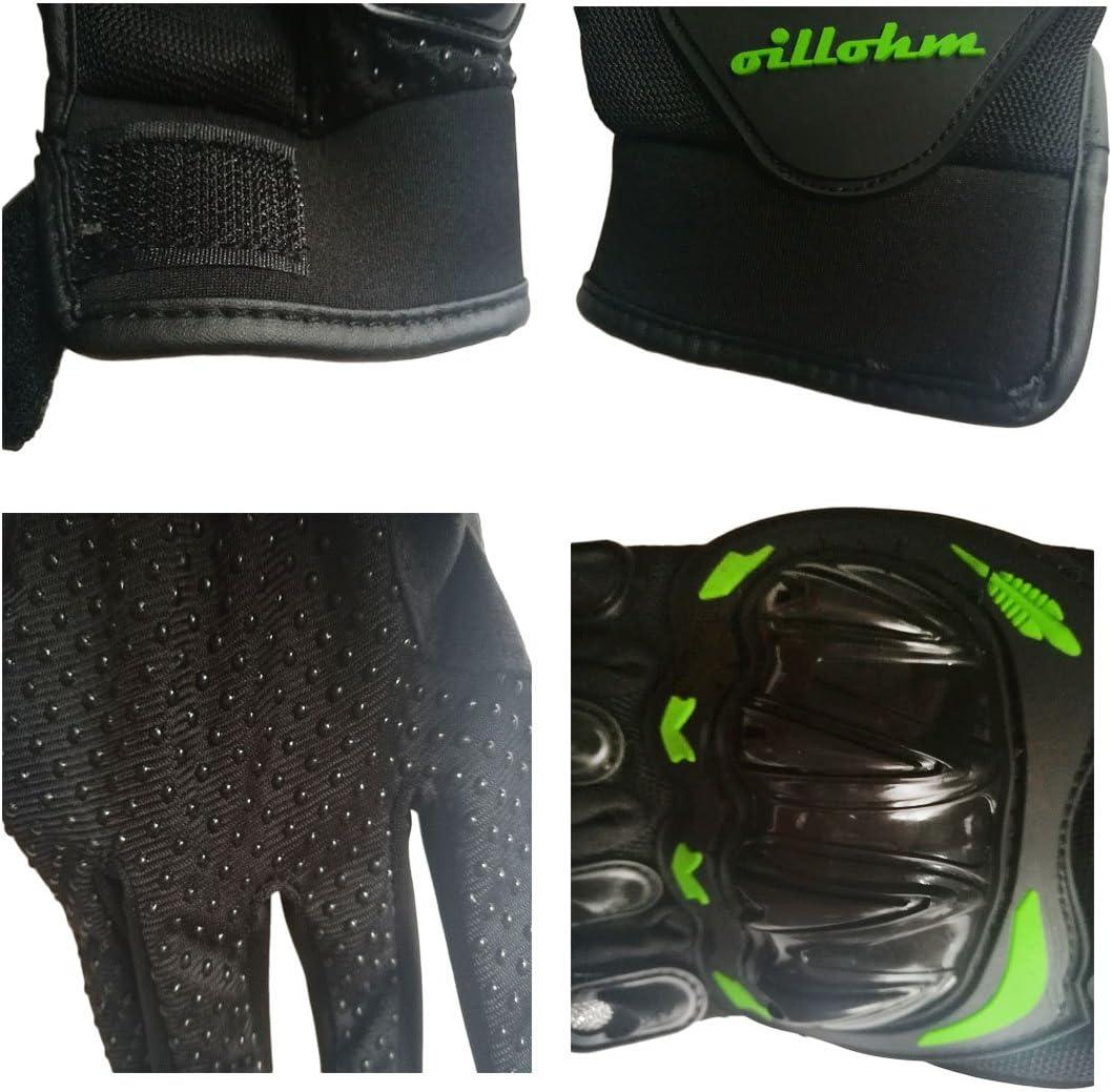 YSYFZ Equipaggiamento da Equitazione Protettivo per Uomini Esterni Guanti Sportivi Full-Finger Corse Fuoristrada Guanti da Moto Guanti