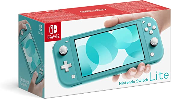 Nintendo Switch Lite - Turquoise [Importación inglesa]: Amazon.es ...