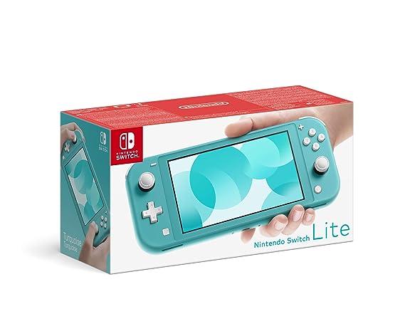 Nintendo Switch Lite - Consola color Azul Turquesa, Edición ...