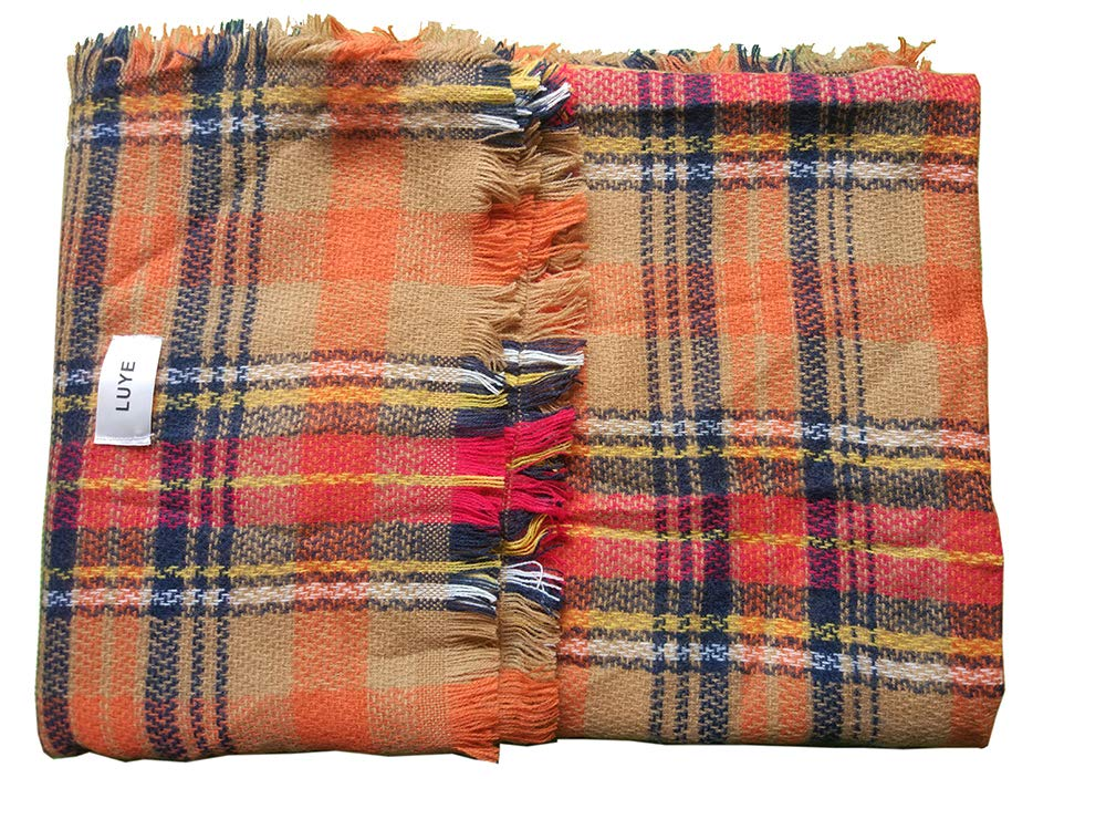 LUYE Woman's Eternal Style Scarf, Classic Elegant Carpet Lattice Scarf by LUYE (Image #4)