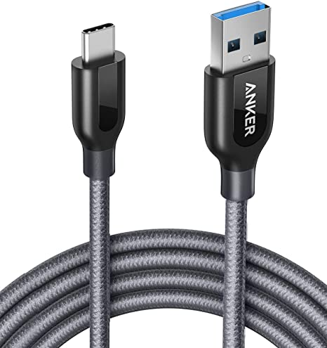 2 Pack 3FT TNP USB Type C to Type C Cable USB-C to USB-C Cable Adapter Connector Plug Wire Cord Super Speed USB 3.0 Male to Male Sync /& Charge Cable , Black