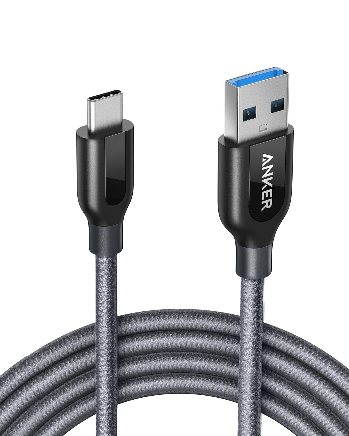 Amazon.com: USB Type C Cable, Anker Powerline+ USB C to USB 3.0 Cable  (6ft), High Durability, for Galaxy Note 8, S8, S8+, S9, MacBook, Sony XZ,  LG V20, and More