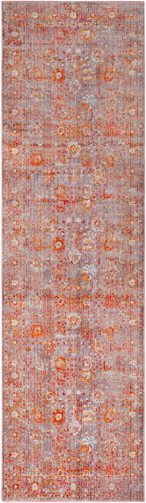 Surya Ephesians-2 7 x 9 Area Rug Gray Pink