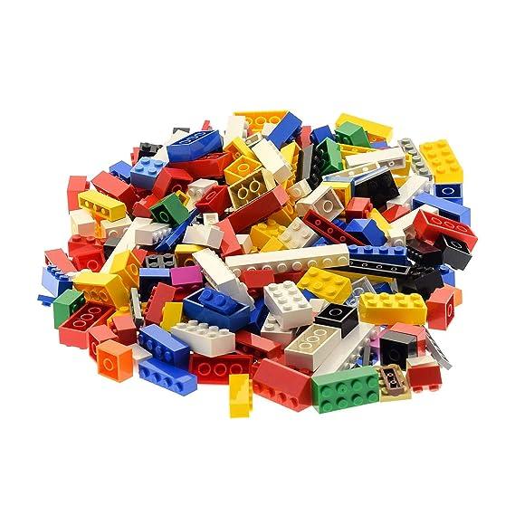 LEGO 1000 Stück Basic Grundbausteine aus Verschiedene größen Bunte Mischung