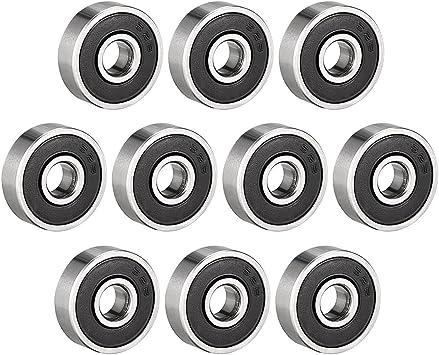 ► 626 ZZ Kugellager 6 x 19 x 6 mm Rillenkugellager 6 mm Welle Miniatur 10 Stk