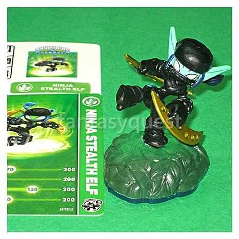 Skylanders SWAP FORCE LOOSE Figure NINJA Stealth Elf [From ...