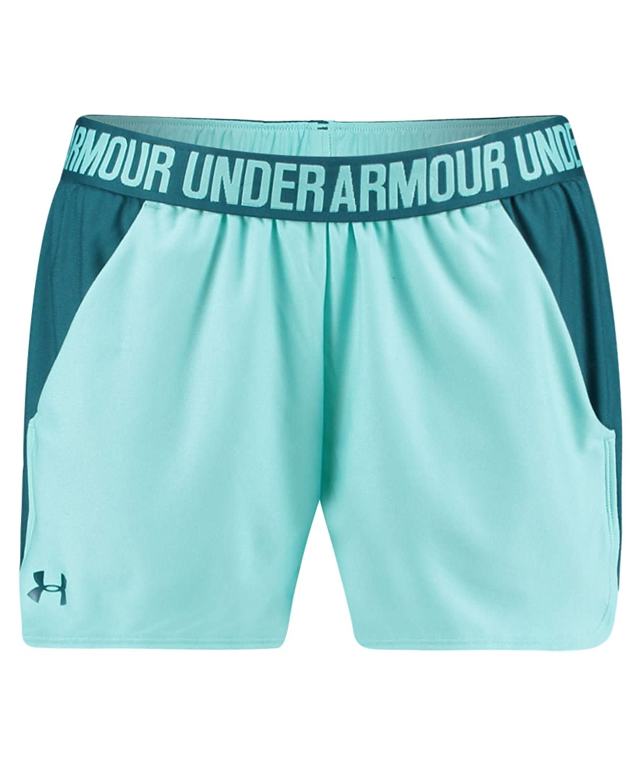 (アンダーアーマー) UNDER ARMOUR プレイアップショーツ(トレーニング/ショートパンツ/WOMEN)[1292231] B071L9DSDH X-Small|Tropical Tide/Tourmaline Teal Tropical Tide/Tourmaline Teal X-Small