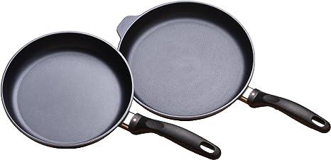 "9.5/"" /& 11/"" Fry Pan Duo Swiss DiamondHD 2-Piece Set"