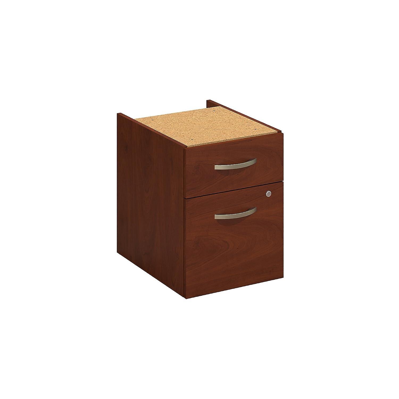Bush Business Furniture Series C Elite 2 Drawer 3/4 Pedestal in Hansen Cherry Bush Industries WC24590