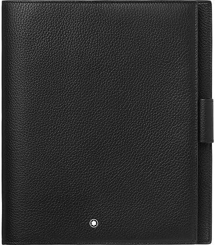 124127 Portabloques mediano Soft Granin Montblanc, color negro/rojo: Amazon.es: Oficina y papelería