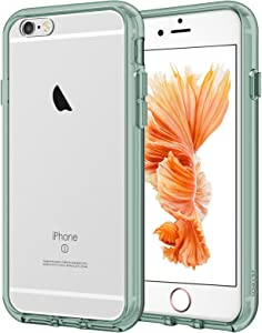 JETech Case for iPhone 6 and iPhone 6s, Shockproof Bumper Cover, Anti-Scratch Clear Back, Midnight Green
