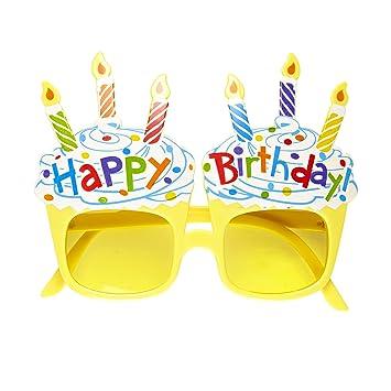 WIDMANN Sancto Feliz cumpleaños Gafas Gafas de Accesorios ...