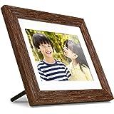 "Aluratek 8"" Distressed Wood Digital Photo Frame with Auto Slideshow, 1024 x 768 (ADPFD08F)"