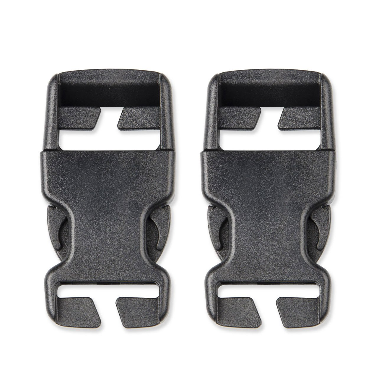 Multi-Size Plastic Buckle Repair Kit Quick Release Buckles No Sewing Required Buckles for Backpack Bag (4pcs Khaki,50 mm)