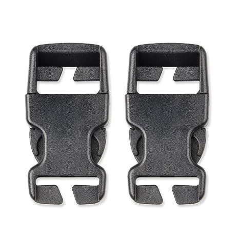 multi-size Stealth de plástico hebillas ajustar Side Release hebilla para cincha