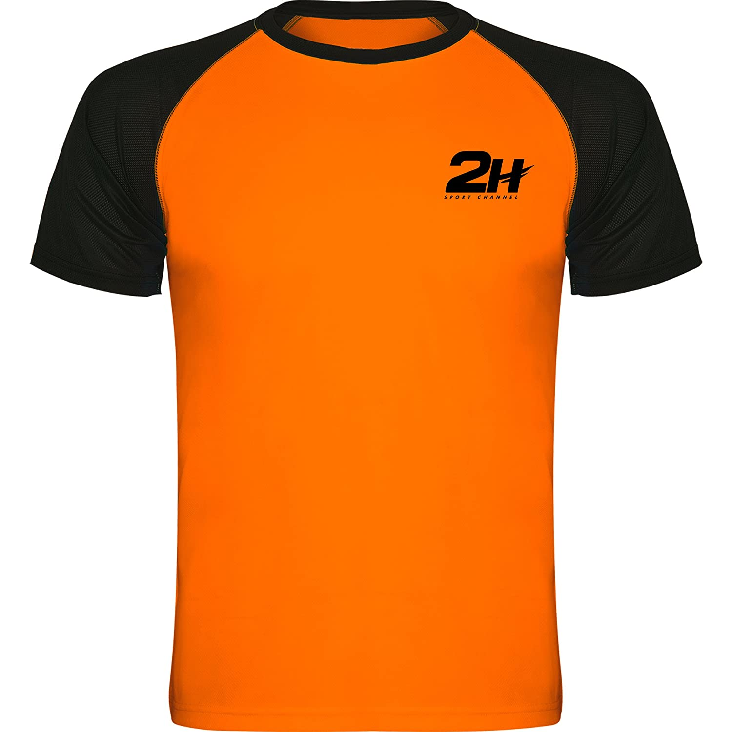 Camiseta técnica de pádel 2H Orange Fury, XL: Amazon.es: Deportes ...
