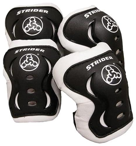 Amazon Com Strider Knee And Elbow Pad Set For Safe Riding Black