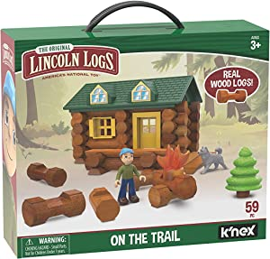 Lincoln Logs - On The Trail Building Set - Ages 3+
