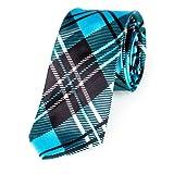 Schmale dünne Krawatte 5cm handgenäht Polyester