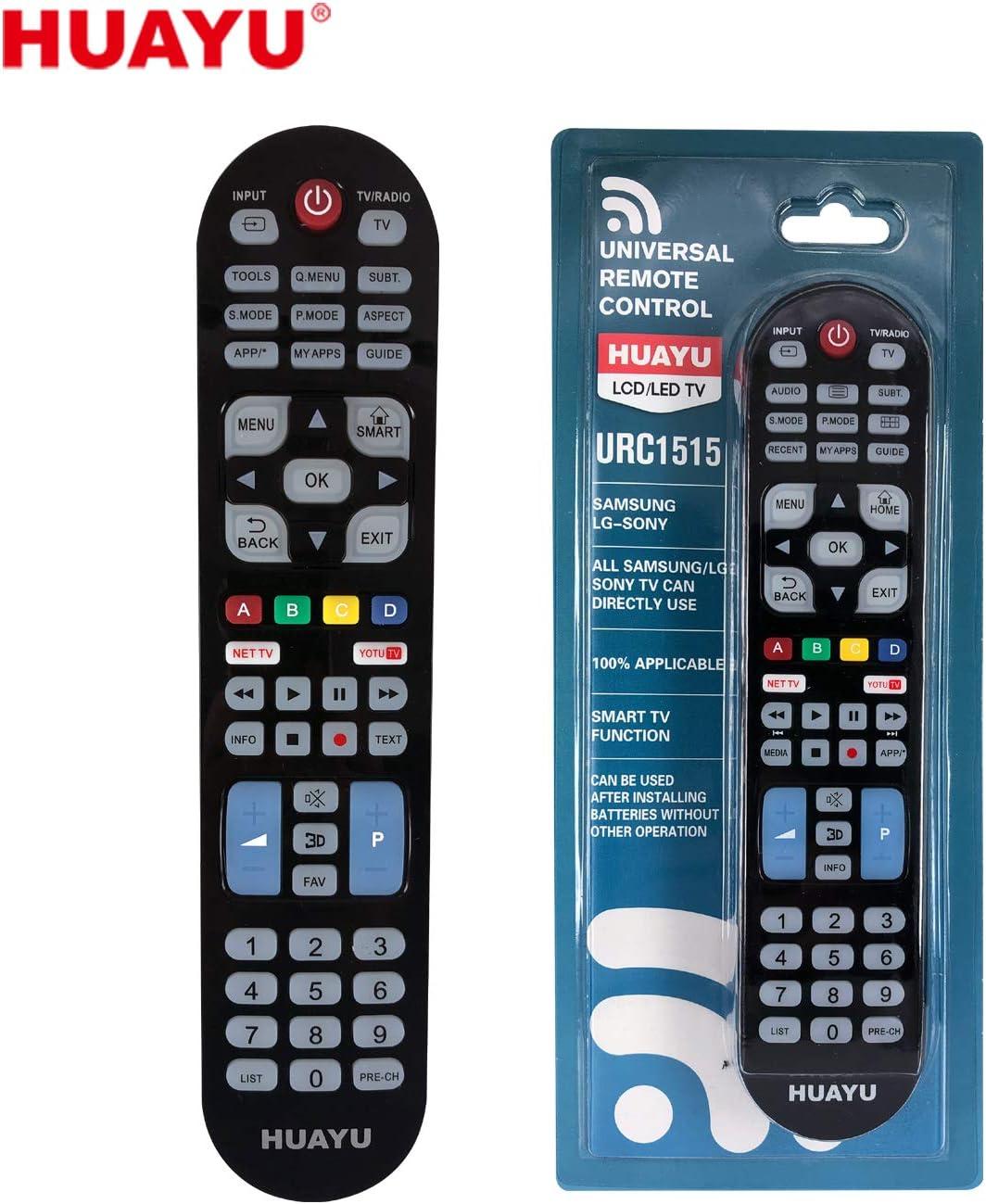 HUAYU URC1515 - Mando a Distancia Universal para televisores LCD y ...
