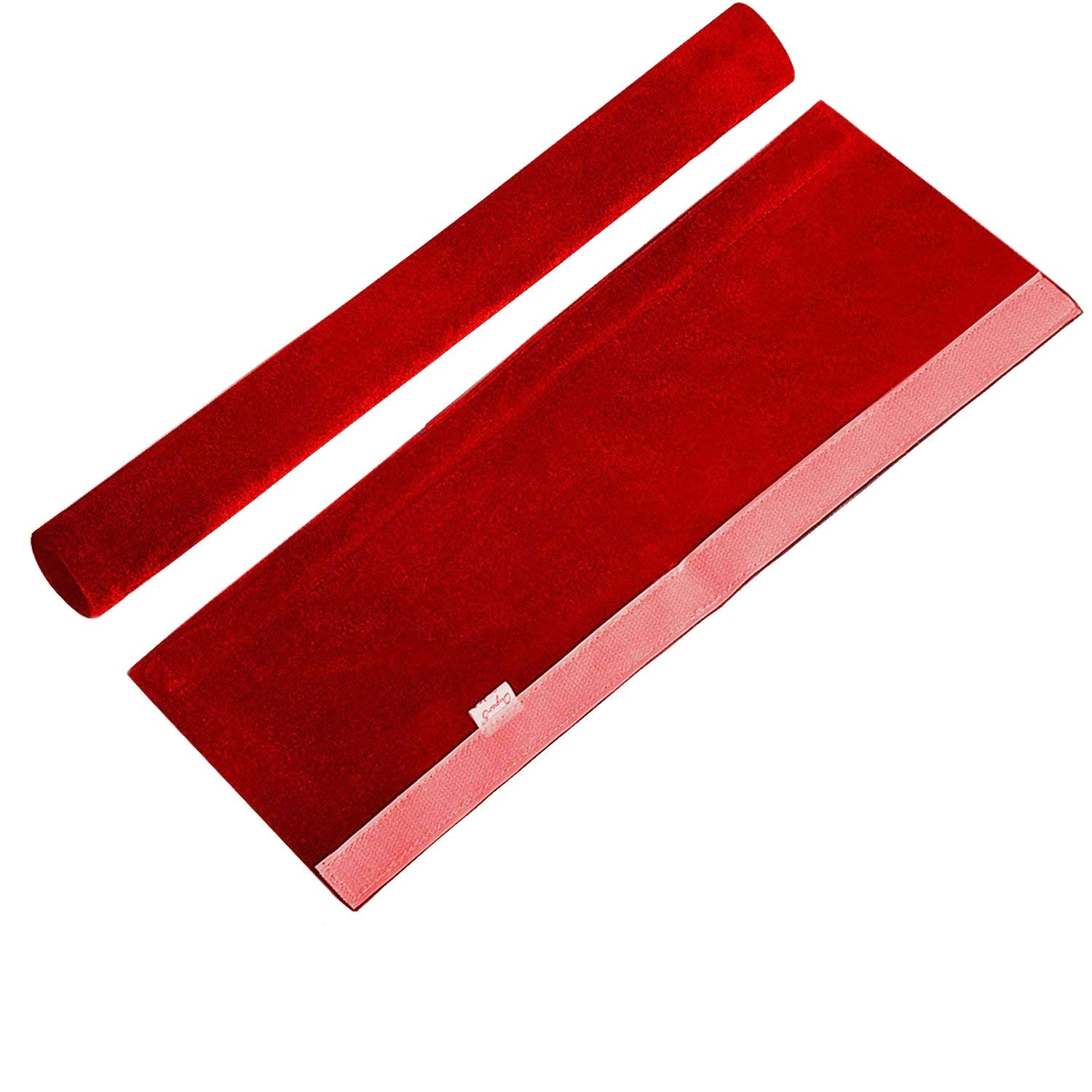 "OUGAR8 Microwave Door Handle Covers,Keep Your Kitchen Appliance Clean From Fingertips&Food Stains,Perfect For Oven,Dishwasher(6""L3.5""W,Burgundy)"