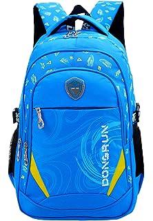 7e1bb5f17af0 SellerFun Child Girl Boy Nylon Light Shoulders Student School Bag Backpack