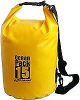 Karana Ocean Dry Pack Day Waterproof Travel Kayak Bag 15 Litre 15L Yellow