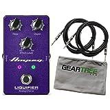 Ampeg Liquifier Bass Chorus Pedal Bundle w/Cables & Cloth