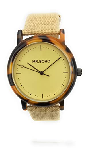 Reloj Mr.BOHO Mujer 36mm Correa Poliester Color azetate ...