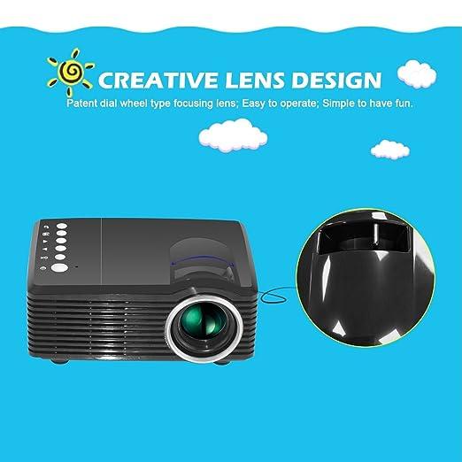 TOPmountain 4K 3D 1080P Proyector Full HD Proyector Mini Proyector ...