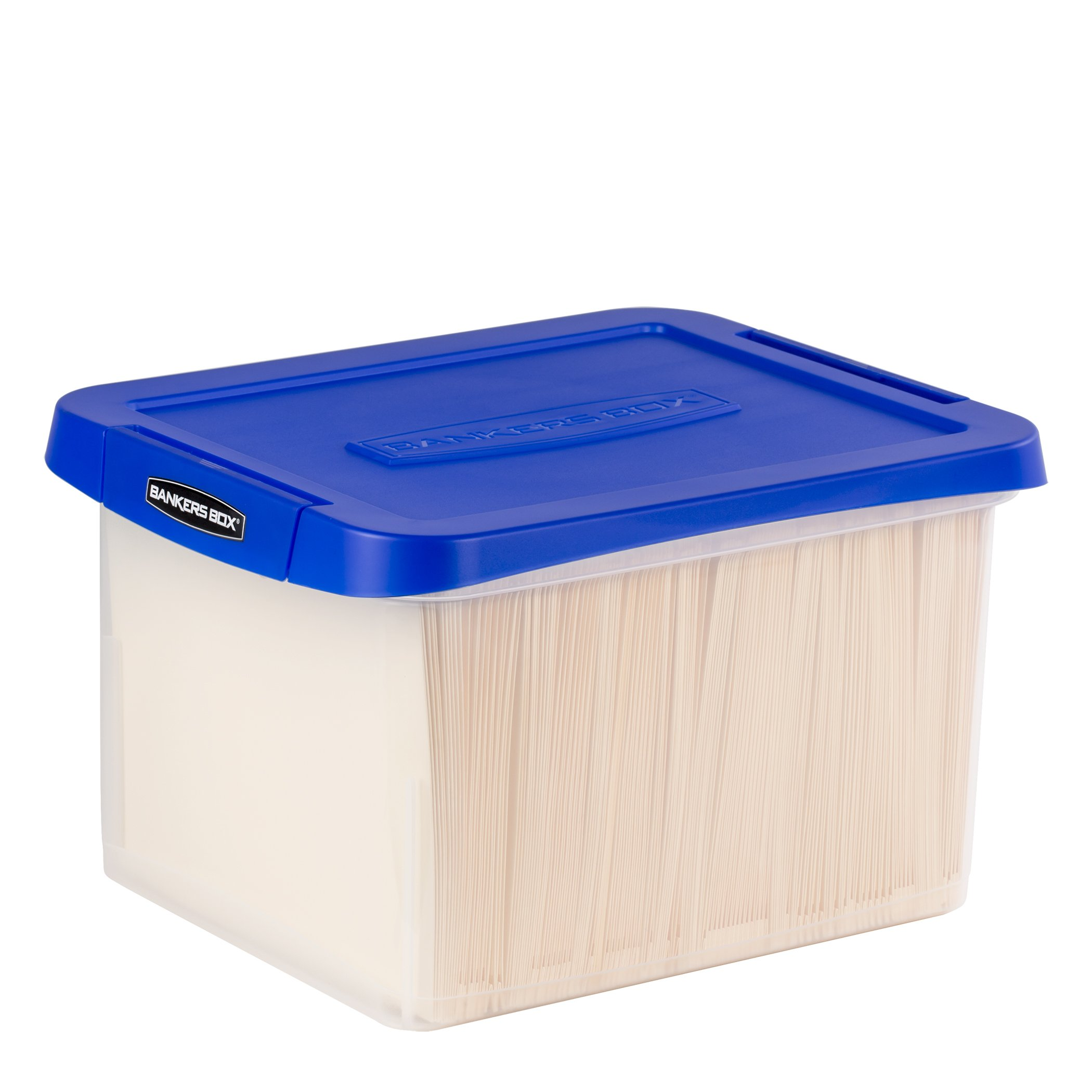 Bankers Box Heavy Duty Letter/Legal Plastic File Box (0086205)