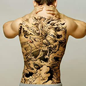 Handaxian 2pcs Dragon Tattoo Boy Espalda Impermeable Tatuaje ...