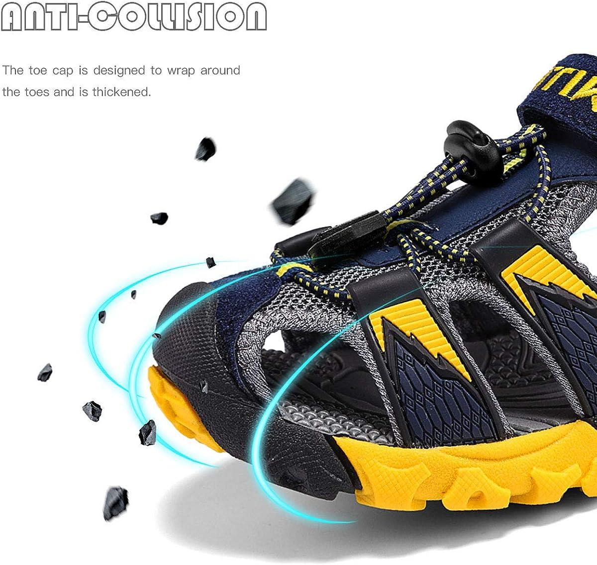 Kids Sandals Sports Outdoor Sandals Beach /& Pool Summer Sneakers Boys /& Girls