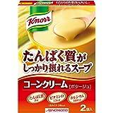 味の素 クノール たんぱく質がしっかり摂れるスープ コーンクリーム 58.4g×10箱
