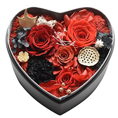 Liuzecai Bouquet Nupcial Flor Fresca preservada Kit de ...